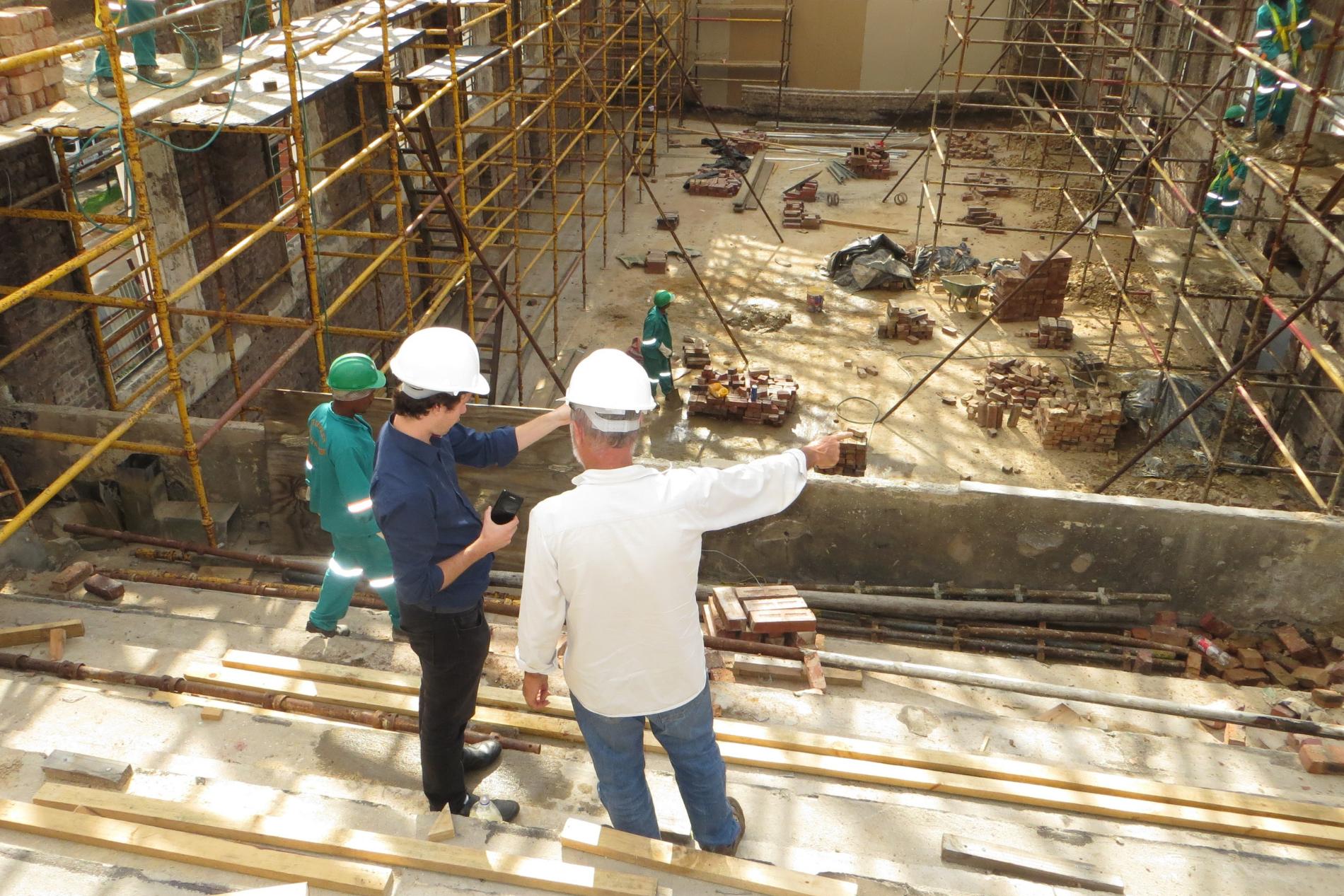Property construction site
