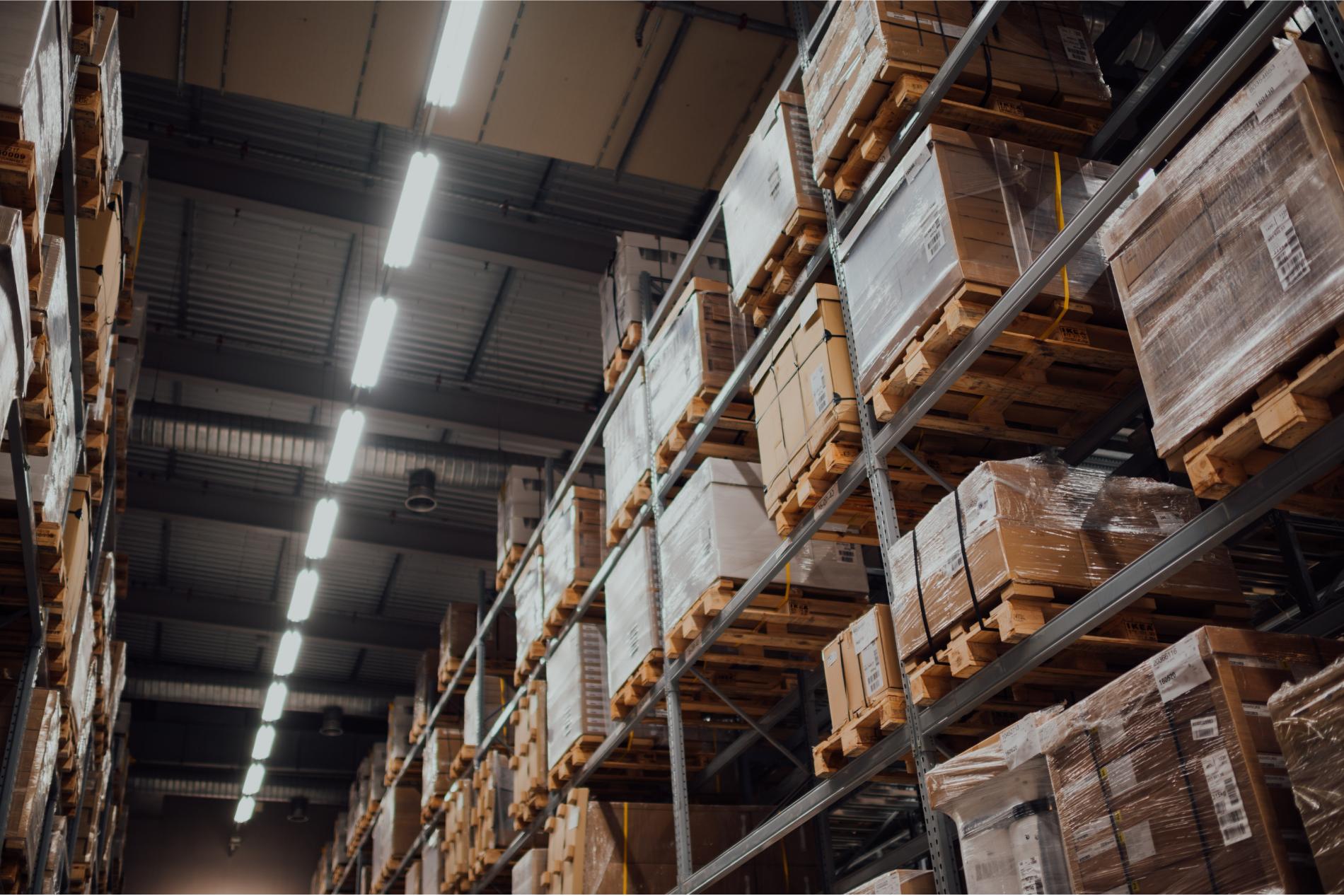 retail warehouse stock
