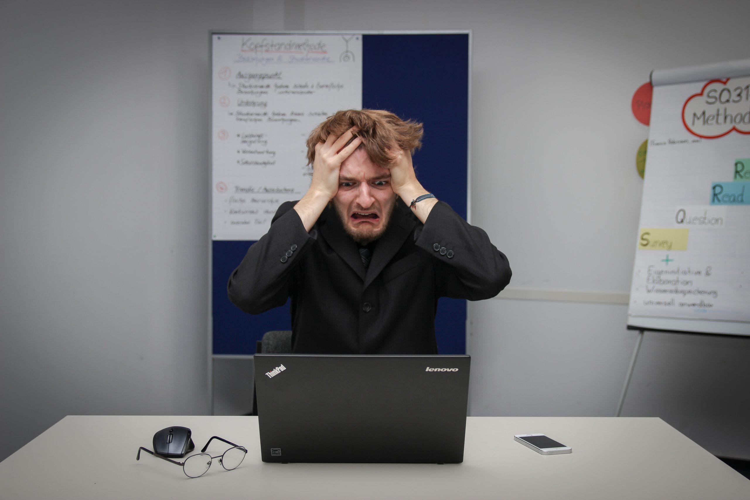 cyber hack panic